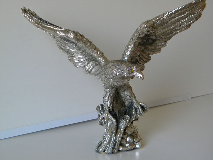 Silver plated Eagle, Arpego PD, Italy, 1990