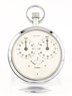 Junghans pocket watch stop watch Timer 1/10 seconds, 1960s
