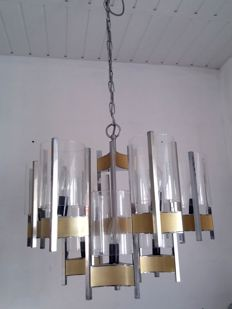 Gaetano Sciolari - Beautiful Italian chandelier for 9 bulbs.
