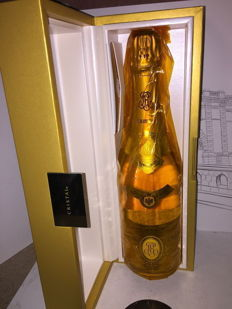 2009 Louis Roederer Cristal Brut Millésimé, Champagne - 1 bottle (75cl) with original coffret