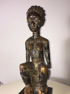 Beautiful statue masterpiece - AGNI - Ivory Coast Early