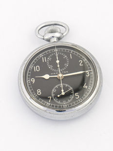 Hamilton pocket watch chronograph, model 23, 1940s