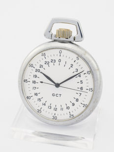 Elgin navigation master watch GCT with 24 hour dial, US Air Force, WWII, 1940s