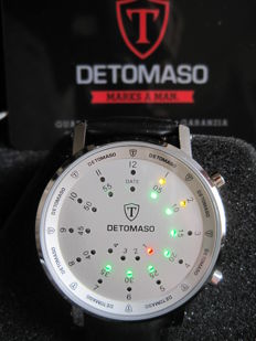 Detomaso Spacy-Timeline G-30730-S - Wristwatch - New