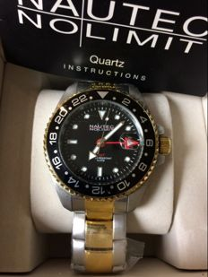 Nautec No Limit Jackfish GMT Steel GP Black