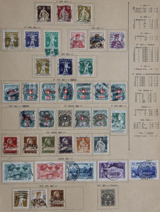 Switzerland 1882/1965 – Collection on loose sheets