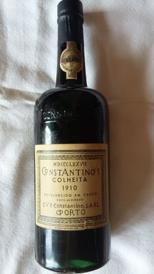 1910 Constantino's Colheita Port. Bottled in 1972 - 1 bottle
