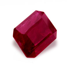 Purple Red Ruby – 0.93 ct – No Reserve Price