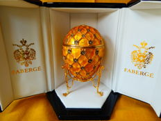 Imperial Fabergé egg - 1992 - Russia -In perfect condition + Certificate