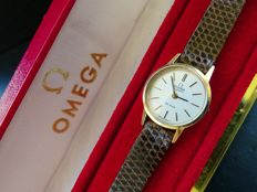 Omega De Ville Ref.591.0017 –  women's wristwatch – 1980 vintage with box