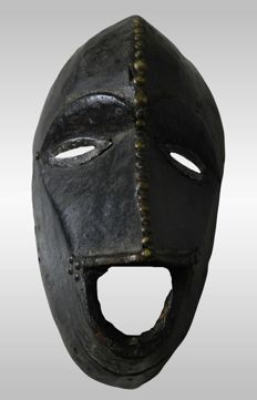 Old XIXth century Mask - KRAN - Liberia