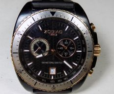 Zodiac Speed Dragon - 100M Black Steel - 1990's - Men's Chronograph