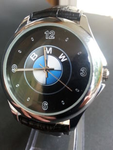 BMW logo wrist watch