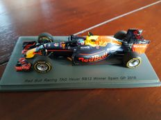 Spark Models - Scale 1/43 - Red Bull Racing RB12 Max Verstappen - winner Spain GP 2016