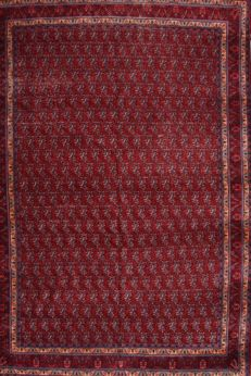 Hand-knotted Persian rug – Senneh, 267 x 391 cm – Iran – 2nd half 20th century