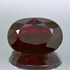 Red ruby – 3.14 ct