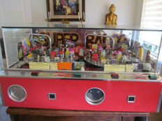Beautiful original Balco Rotor 2-player fair machine with prize containers