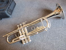 Trumpet ChS TR300S with solid case, Bb