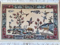 TABRIZ - approx. 140 x 95 cm - China - hand-knotted - 20th century