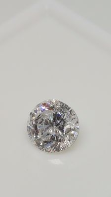 0.72 ct - Round Brilliant - D / SI2 - No minimum price