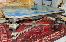 Marble coffee table - Italy, 20th century