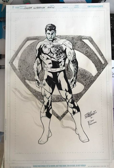 Superman Earth 2 Pinup