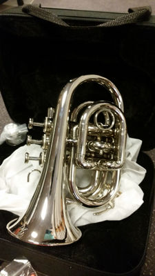 ChS Pocket trumpet with solid case, Bb