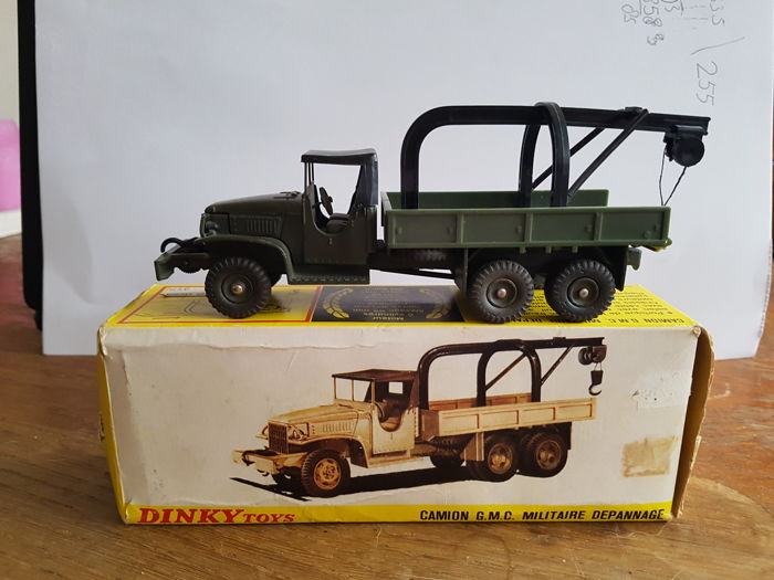 dinky toys scale 1 48 camion gmc military depannange no 808 catawiki. Black Bedroom Furniture Sets. Home Design Ideas
