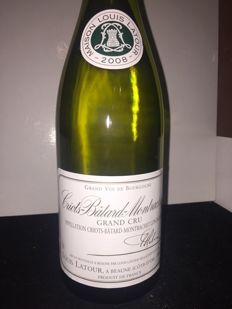 2008 Criots-Batard-Montrachet Grand Cru, Louis Latour Cote de Beaune - 1 bottle (75cl)