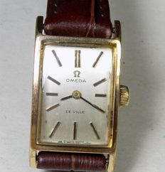 Omega De Ville - calibre 484 - Rectangle Case - 1960's - Ladies Wristwatch