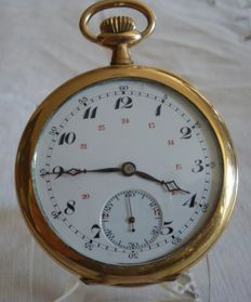 Men's pocket watch - Movement signed HEROLD - 1910