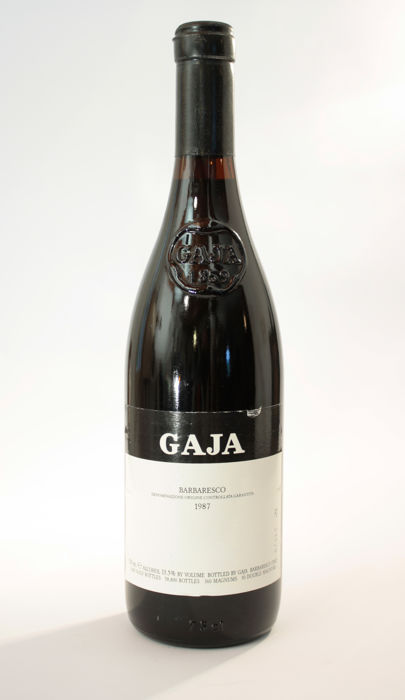 1987 Gaja Barbaresco DOCG, Piedmont - 1 bottle (75cl)