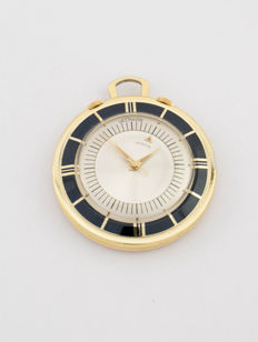 LeCoultre Memovox pocket watch / table clock with alarm, 1950s