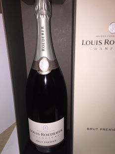 Louis Roederer Brut Reserve - 1 magnum (1.5L) in luxury case