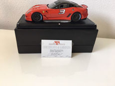 MR Models - Scale 1/18 - Ferrari 599 XX # 3 - Red
