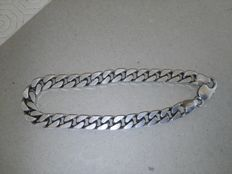 Men's bracelet with 925 silver hallmark, length: 22 cm