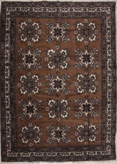 Hand-knotted Persian rug – Gabbeh – 270 x 355 cm – Iran – circa 1990