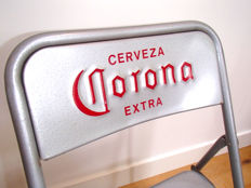 2 folding chairs - Cerveza Corona - 1995
