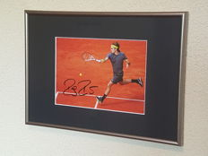 Roger Federer - Tennis legend - original autographed framed photo + COA