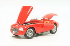 Hot Wheels - Scale 1/18 - Ferrari 166 MM Barchetta 1949 - Red