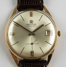 Revue with Date Display – Men's Wristwatch – Circa 1950