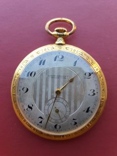 Girard Perragaux – men's pocket watch – 1880
