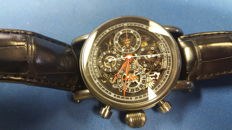 Chronoswiss Grand Opus Skeleton Swiss Chronograph - PVD CH7545 Watch + Box + Papers - nearly mint