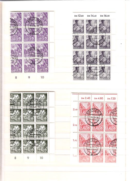World - collection of stamps, blocks, sheets and FDCs in