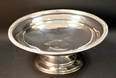 Antique Silver Plate Large Fruit Dish, ca.1910