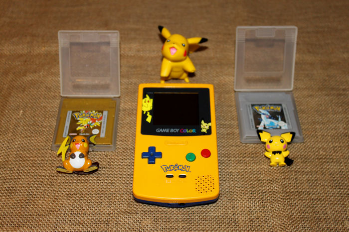 Game Boy Color Pokemon Limited Edition (1998) + 2 games (Pokemon ...