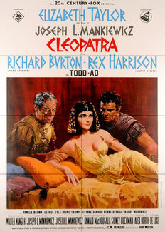 Anonymous - Cleopatra movie poster (Italian) - 1963