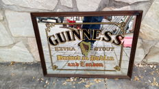 Framed mirror of GUINNESS beer