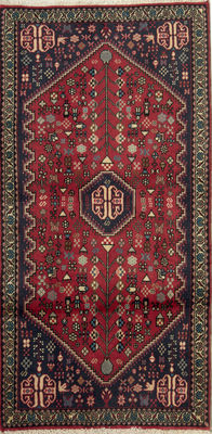 NEW*Abadeh -Handknotted/Persian/ORIENTAL/ - Abadeh-Carpet  147 x 70 IRAN Around 1980