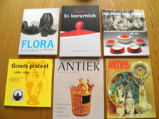 Literature: 6 books/publications about Gouda pottery